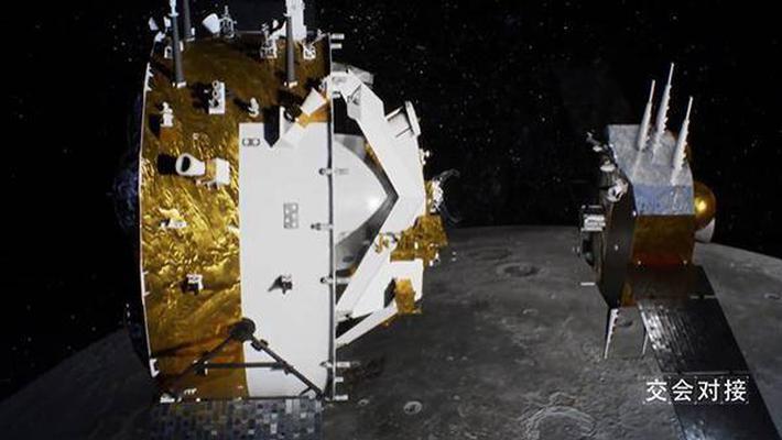 嫦娥五号两个大动作完成