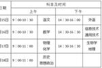 重慶市普通高中學業水平合格性考試報名啟動