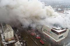 At least 64 killed in Russian shopping center fire