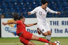 South Korea, the Philippines compete at 2018 AFC Women's Asian Cup in Amman, Jordan