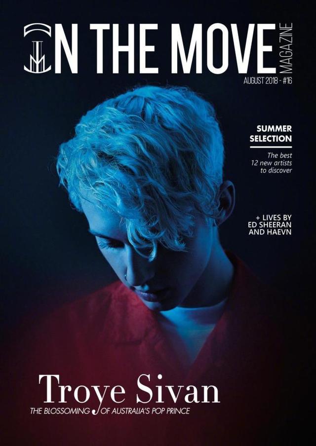 新浪娱乐讯 8月10日消息,特洛伊-希文最新杂志写真曝光,他眼神忧郁,低眸垂首,展现精致五官。