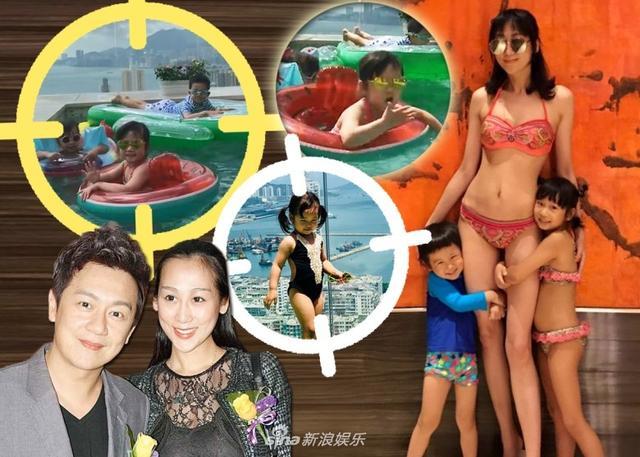 新浪娱乐讯 日前,陈浩民娇妻蒋丽莎晒出带四个子女在空中泳池戏水的片段。蒋丽莎身穿性感比基尼出镜,丝毫看不出是生了四胎的样子,十分火辣。
