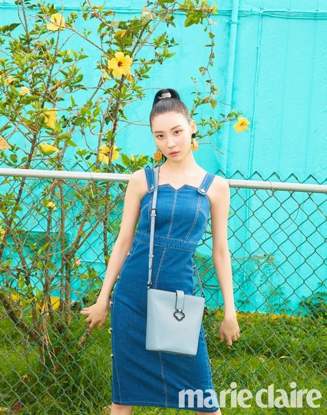 新浪娱乐讯 韩国女歌手宣美为某时装杂志最新一期拍摄的一组时装照近日在网上曝光,吸引了众多粉丝的目光。吕东垠/文 版权所有Mydaily禁止转载