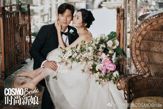 秋瓷炫于晓光登封拍婚纱照