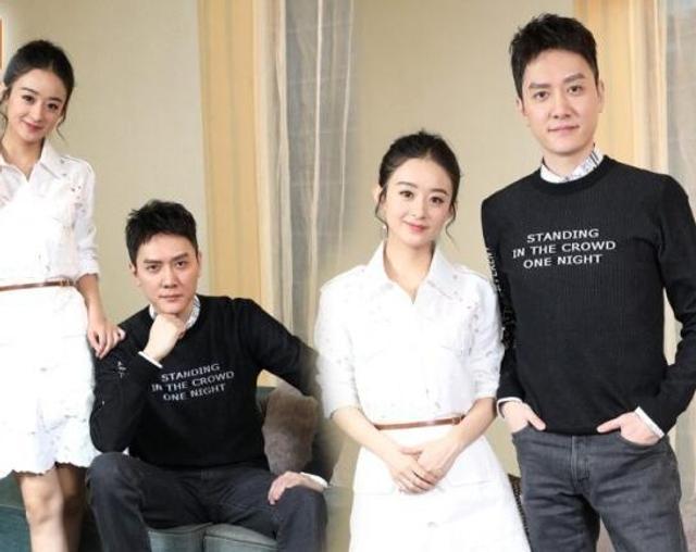 新浪娱乐讯 近日,内地当红艺人兼绯闻情侣赵丽颖与冯绍峰最近双双为新片《西游记女儿国》做宣传活动。