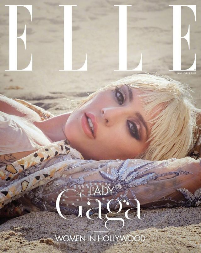 新浪娱乐讯 近日,Lady Gaga最新封面大片曝光,沙滩上仰躺眼神霸气妩媚,造型似美人鱼。