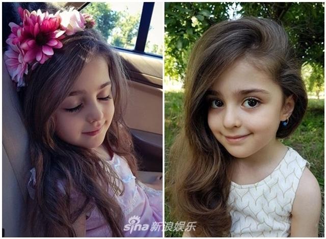 新浪娱乐讯 据台湾媒体报道,8岁的伊朗小女孩穆罕玛蒂(Mahdis)因为超龄的美貌爆红,一双水汪汪大眼和超浓密睫毛,整个人宛如真人洋娃娃一般,被封为世界最美女孩。因为外型神似迪丽热巴,掀起热烈讨论。虽然人气超高,却也成了爸妈的隐忧,担心有疯狂粉丝会骚扰,颜值超高堪比男模的爸爸索性辞去工作,当起女儿的贴身保镖。