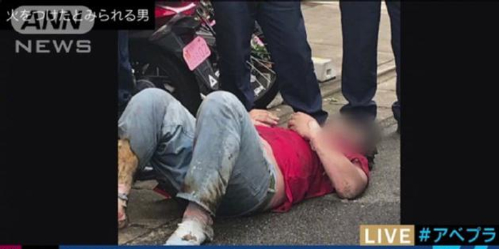京都動畫縱火案最新視頻曝光 縱火嫌犯曾踩點總部