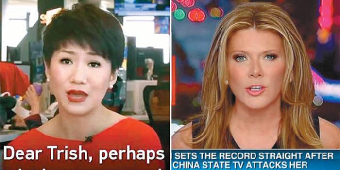 中國女主播約辯美國女孩翠西 傳遞正確中國聲音