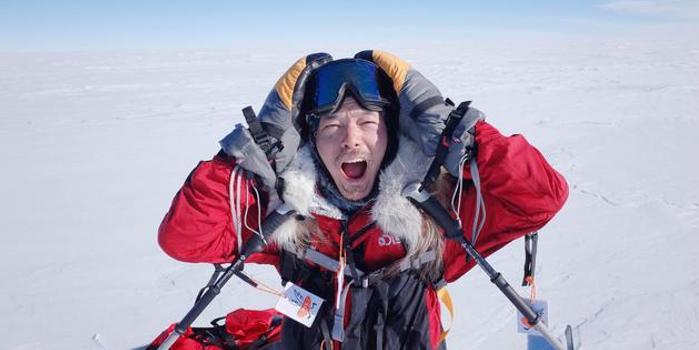 宥勝四萬字親筆紀錄南極行 零下三十度冰原歷險