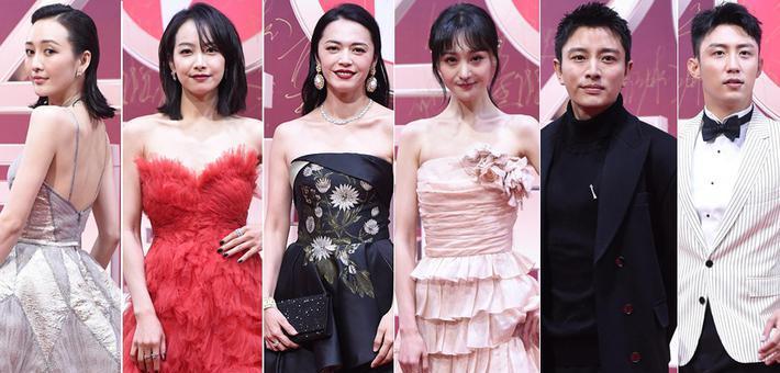 姚晨郑爽宋茜等女星红毯比美谁赢了?