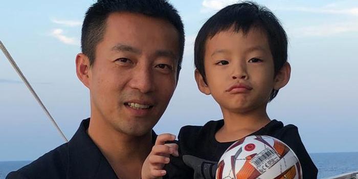 汪小菲罕見曬兒子正面照 三歲的汪希箖長這么高!