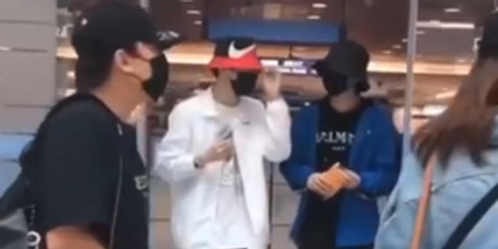 陳立農朱正廷韓國機場偶遇 兩人有說有笑關系好