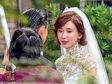與老公Akira彩排婚禮  林志玲婚紗造型曝光