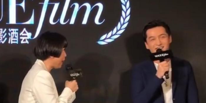 胡歌回應費曼P圖:我還沒長大 和小孩有共同語言