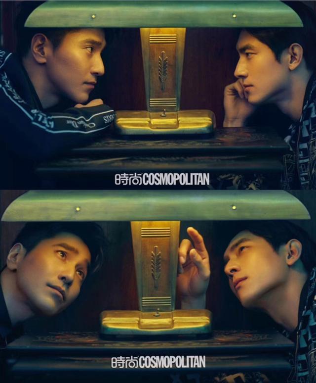 在《时尚COSMO》最新封面中,赵又廷和林更新携手登上了封面,这养眼颜值和别样的兄弟情让我们看到了男人之间的时尚友谊。