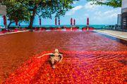 跨界设计|怪诞游泳池刷新你对水的想象