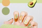 超梦幻夏季清新指甲跳色 给你的指尖增添一抹活泼亮彩