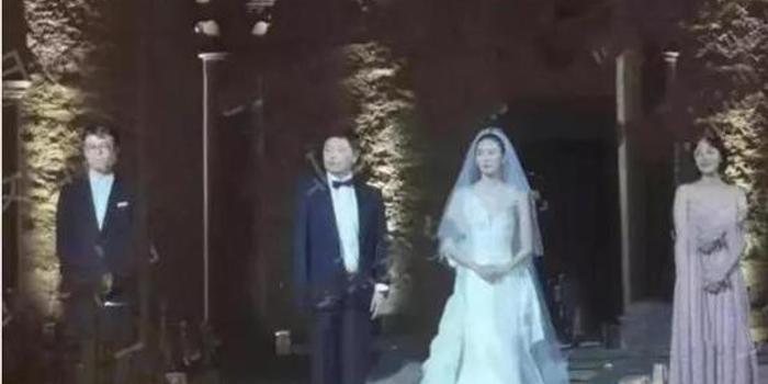 易凱資本王冉與女星童瑤意大利秘密完婚