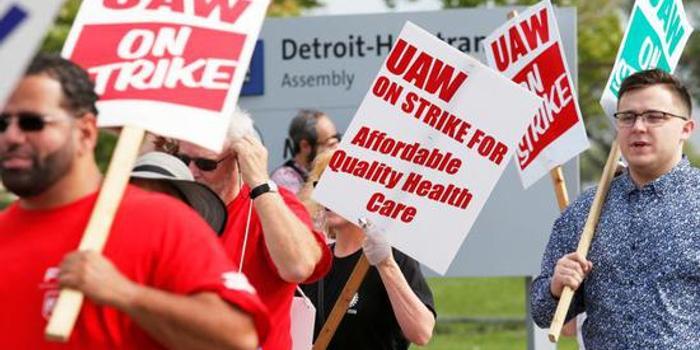 通用汽車與UAW達成臨時協議 或將結束為期四周的罷工