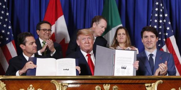 特朗普同意取消對加拿大和墨西哥的鋼鋁關稅