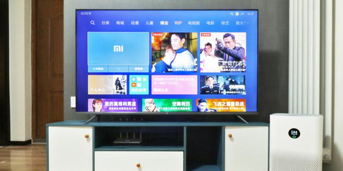 金屬外觀+全新芯片加持 小米全面屏電視Pro評測