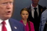 特朗普與環保少女同日亮相達沃斯 自夸美國宇宙第一