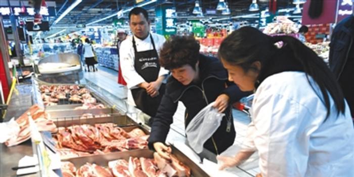 北京豬肉批發價回落 批發均價20天下降逾7元/斤