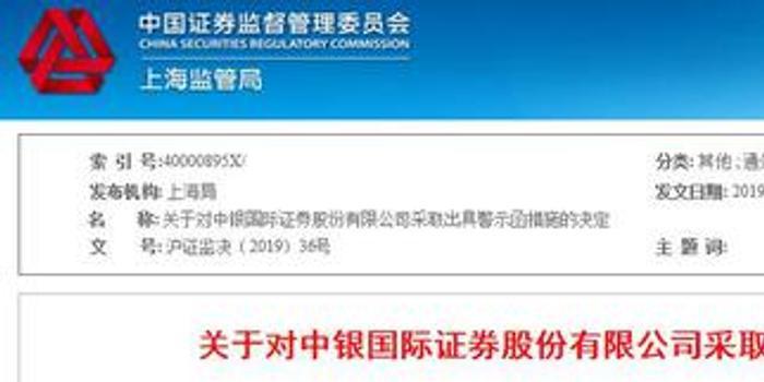 中銀國際證券存合規人員配備不符合要求 被監管警示