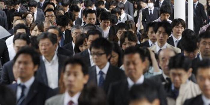調查顯示日本就業人數達6698萬創新高