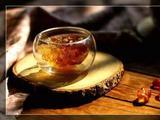 素食养生:桃胶雪梨南瓜甜汤