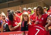 拜仁开启美国行 满足当地球迷