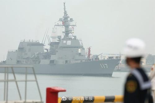 现场直击!多国军舰抵达青岛