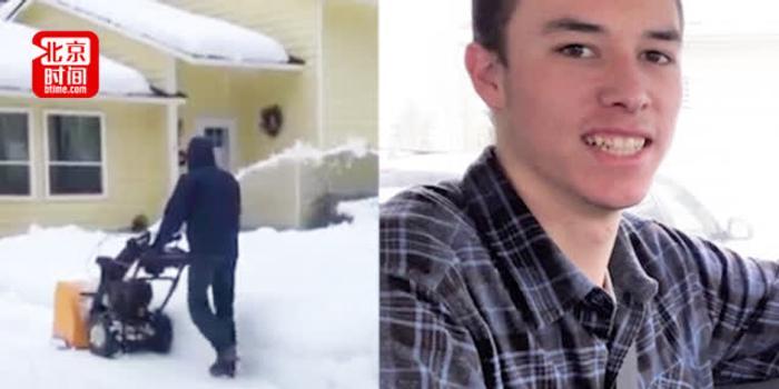 西雅圖遭遇70年一遇降雪 男孩光靠鏟雪4天賺23萬