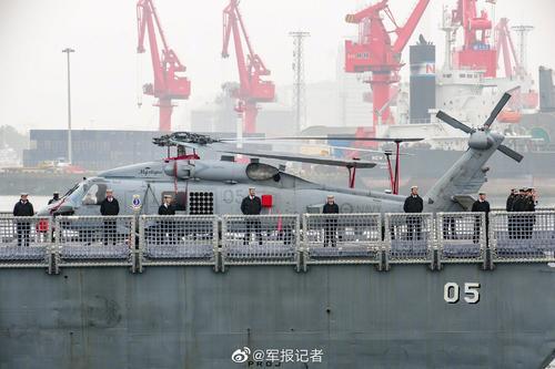 有朋自海上来,11国海军16艘舰艇同日抵达青岛