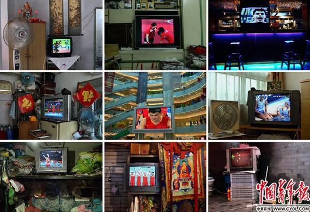 2008年8月,北京大街小巷、家家户户的电视机里都在播放奥运会的盛况。