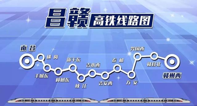 9月29日上午11时08分,第一组500米长轨在昌赣高铁樟树东铺轨基地稳稳落下,标志着昌赣高铁全线进入铺轨阶段,预计2019年3月底全线完成铺轨。据介绍,昌赣高铁总长约415.2公里,沿线设车站13个,是规划京九客运专线的重要组成部分,设计行车速度为350公里/小时。