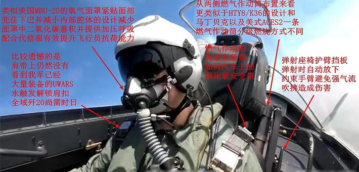 装备水触发锁扣?歼20驾驶舱内细节曝光