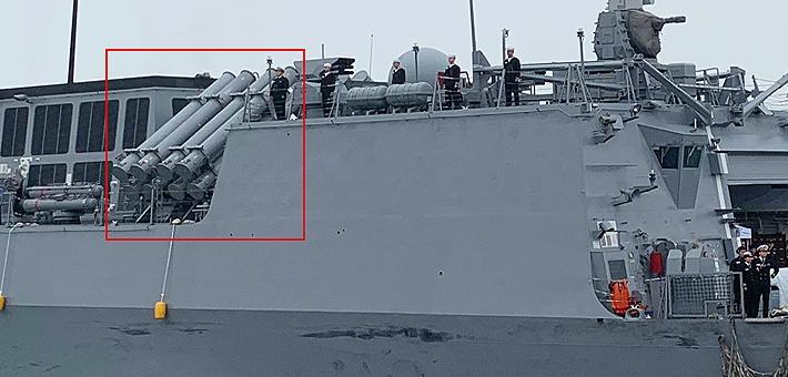 反舰弹密密麻麻!韩国仁川级战舰抵青岛