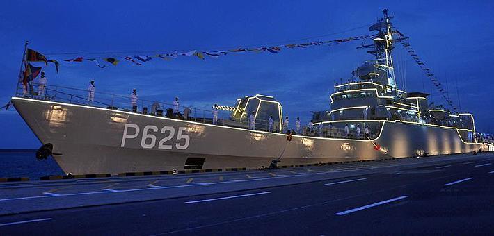 铜陵舰获新生!中国援斯里兰卡053舰入役