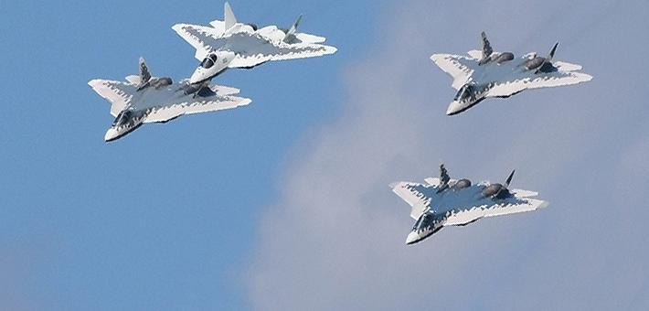 真想卖给中国?俄苏57编队彩排备战航展