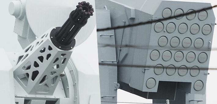 想偷师?日本拍中国神盾舰各处细节照
