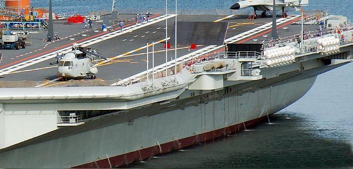 国产航母第九次海试 或将接收舰载机