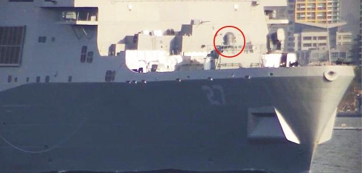 学中国?美也用登陆舰搭载激光炮测试