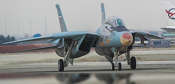 伊朗展示大修完工战机 古董F14再亮相