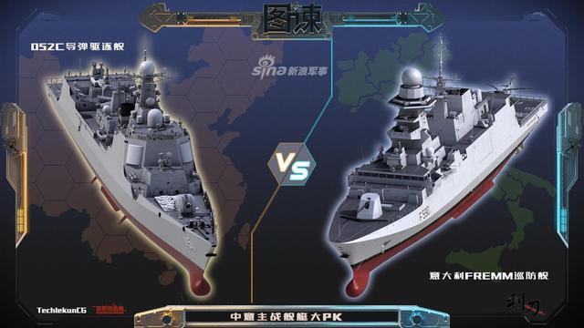最近几期图谏我们都是跟美日舰艇做比较,但现代舰艇的发展来自欧洲,这期我们就来和老牌帝国海军在新时期思想下设计出的军舰做一个比较,看看我们有那些长处和短处,取长补短一下。在这里感谢作者techiekun cg的大力支持。(来源:利刃军事)