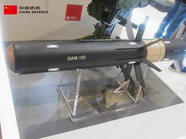 在16-19日举行的马来西亚防务展上,中国保利集团最新曝光的GAM-102反坦克导弹。据现场工作人员介绍具体性能比美国标枪还先进,该型号系首次曝光!据称其射程达到4公里,比美国标枪还要远2公里。(新浪军事独家拍摄,全网首发)
