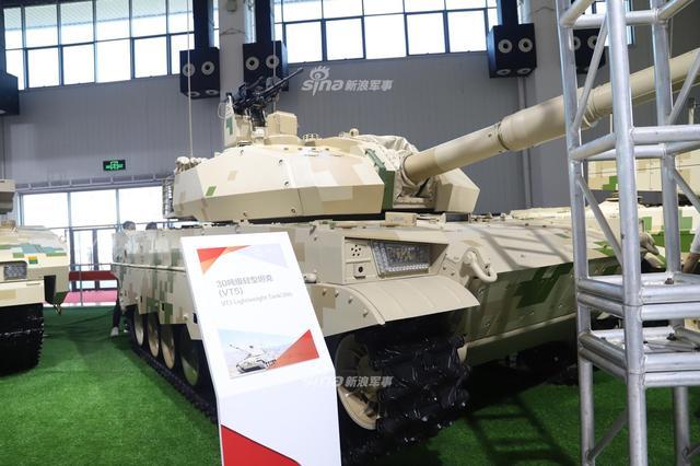 VT-5轻型坦克是中国研制新的轻型主战坦克。该坦克使用中国最新型105毫米线膛炮,它是中国引进的西方L7型105毫米坦克炮的改进型。这种加长身管的105毫米炮,据称是世界上威力最大的105毫米炮,可以在两公里处洞穿500毫米均质钢装甲,摧毁大多数T-72坦克型号毫无问题  。