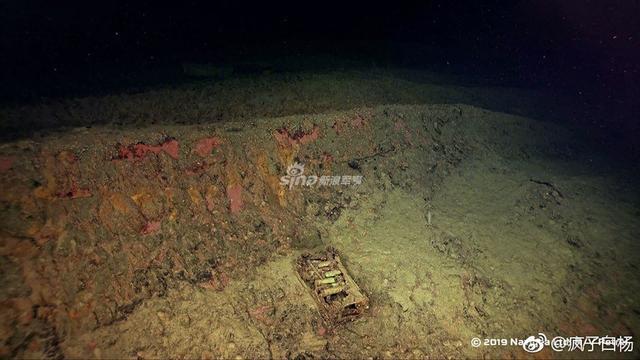 所罗门海985米深处,旧日本海军比睿(ひえい)号战列舰残骸 。(来源:疯子白杨)