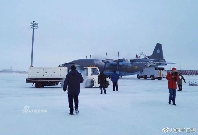 哈萨克斯坦国民警卫队对其装备的中国造Y-8F-200WA运输机进行维护。该机由中国陕飞制造,于2018年9月底抵达哈萨克斯坦。根据国民警卫队负责人的说法,这架飞机是专门为哈萨克斯坦建造的。(来源:疯子白杨)